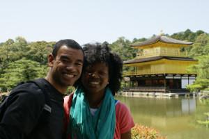 Us in Kyoto, Japan