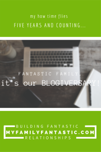 It's My Blogiversary!