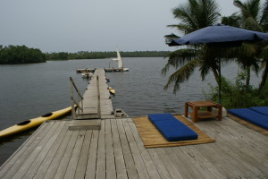 Bab's Dock Restaurant & Resort Cotonou, Benin (West Africa)