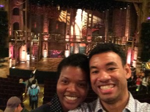 Us at Hamilton on Broadway
