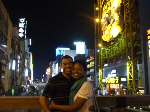 Osaka, Japan Night Life